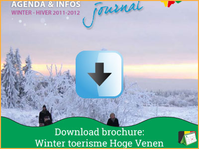 Vakantie brochure - Winter Toerisme Hoge Venen 2011-2012 (24 pagina's) via www.feestdagen-belgie.be