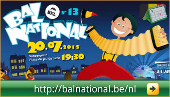Programma van het Bal National op het Vossenplein, Brussel via www.feestdagen-belgie.be