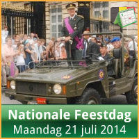 Evenementen op Nationale Feestdag 21 Juli 2014 Militair Defile Brussel via http://www.feestdagen-belgie.be/