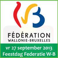 Evenementen op Feestdag Franse Gemeenschap 27 september 2013 (Federatie Wallonie-Brussel) via http://www.feestdagen-belgie.be/