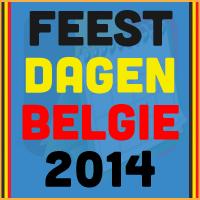 De datums van de Belgische feestdagen voor het kalender jaar 2014 via http://www.feestdagen-belgie.be/