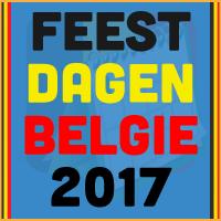 De datums van de Belgische feestdagen voor het kalender jaar 2017 via http://www.feestdagen-belgie.be/