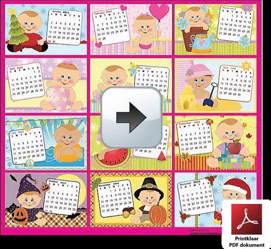 Kalender 2014 Jaarkalender 2014 Nederland Afdrukken Excel