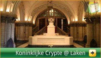 Koninklijke Crypte en openingsuren via www.feestdagen-belgie.be