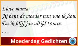 Gedichten Moederdag Ideeen via www.feestdagen-belgie.be