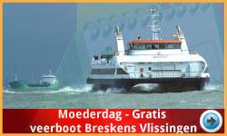 Veerboot Breskens Vlissingen Moederdag via www.feestdagen-belgie.be