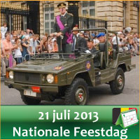 Evenementen op Nationale Feestdag 21 Juli 2013 Militair Defile Brussel via http://www.feestdagen-belgie.be/