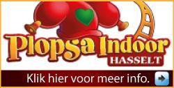 Plopsa Indoor Hasselt via www.feestdagen-belgie.be