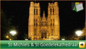 De Sint-Michiels-en-Sint-Goedelekathedraal te Brussel. via www.feestdagen-belgie.be
