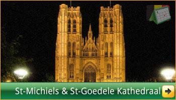 De Sint-Michiels-en-Sint-Goedelekathedraal te Brussel via www.feestdagen-belgie.be