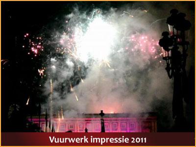Vuurwerk 21 juli 2012 23:00h Paleizenplein, Brussel via www.feestdagen-belgie.be