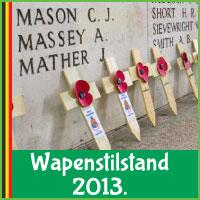 6 Top Evenementen en Achtergronden van Wapenstilstand 2013 in Belgie. via http://www.feestdagen-belgie.be/